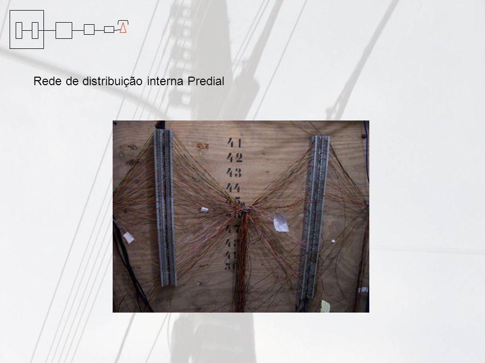 Rede de distribuição interna Predial