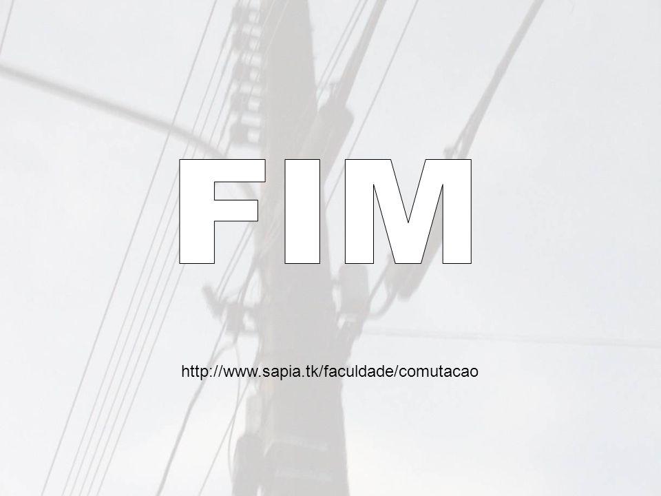 FIM http://www.sapia.tk/faculdade/comutacao