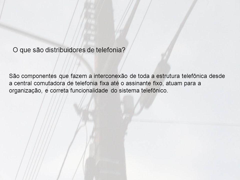 O que são distribuidores de telefonia