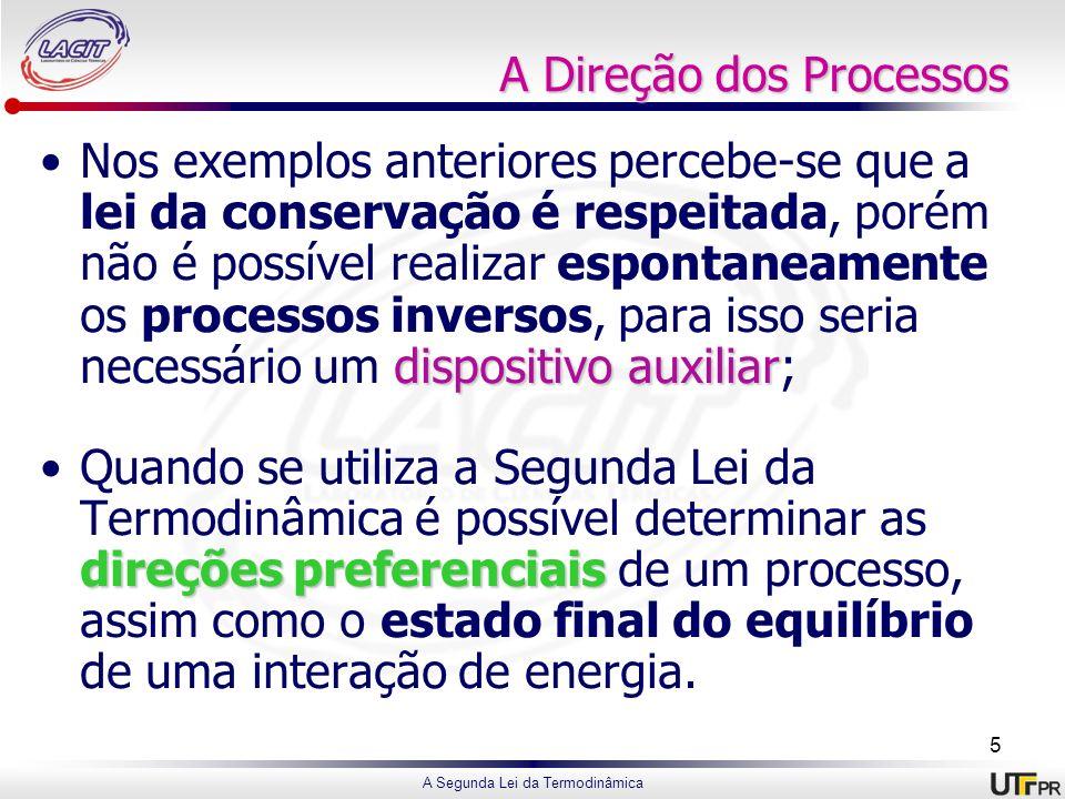 A Direção dos Processos