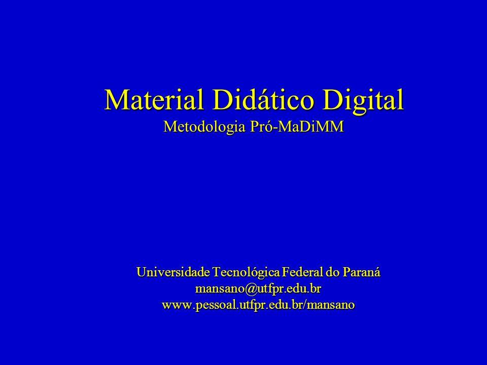 Material Didático Digital Metodologia Pró-MaDiMM