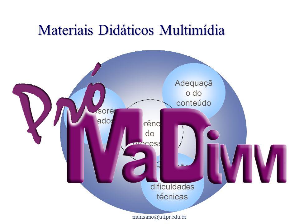 Materiais Didáticos Multimídia