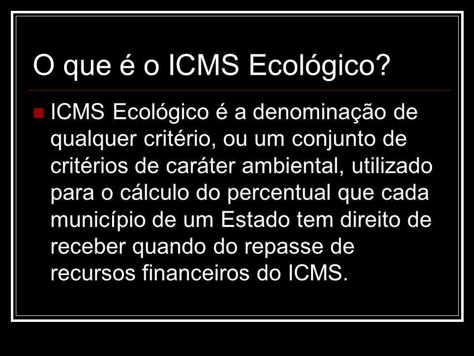 O que é o ICMS Ecológico