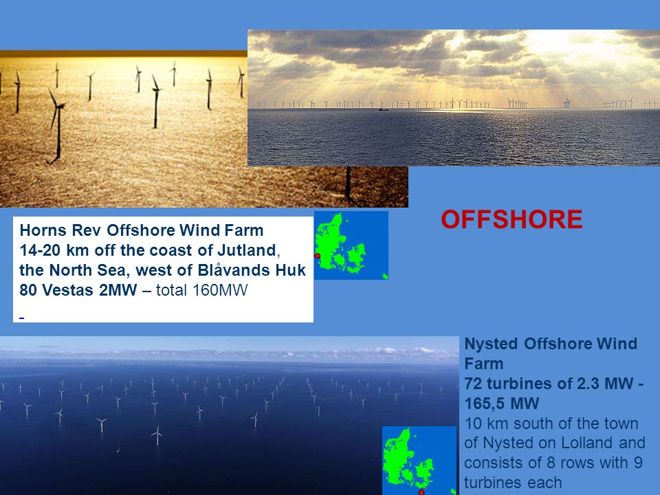 OFFSHORE Horns Rev Offshore Wind Farm