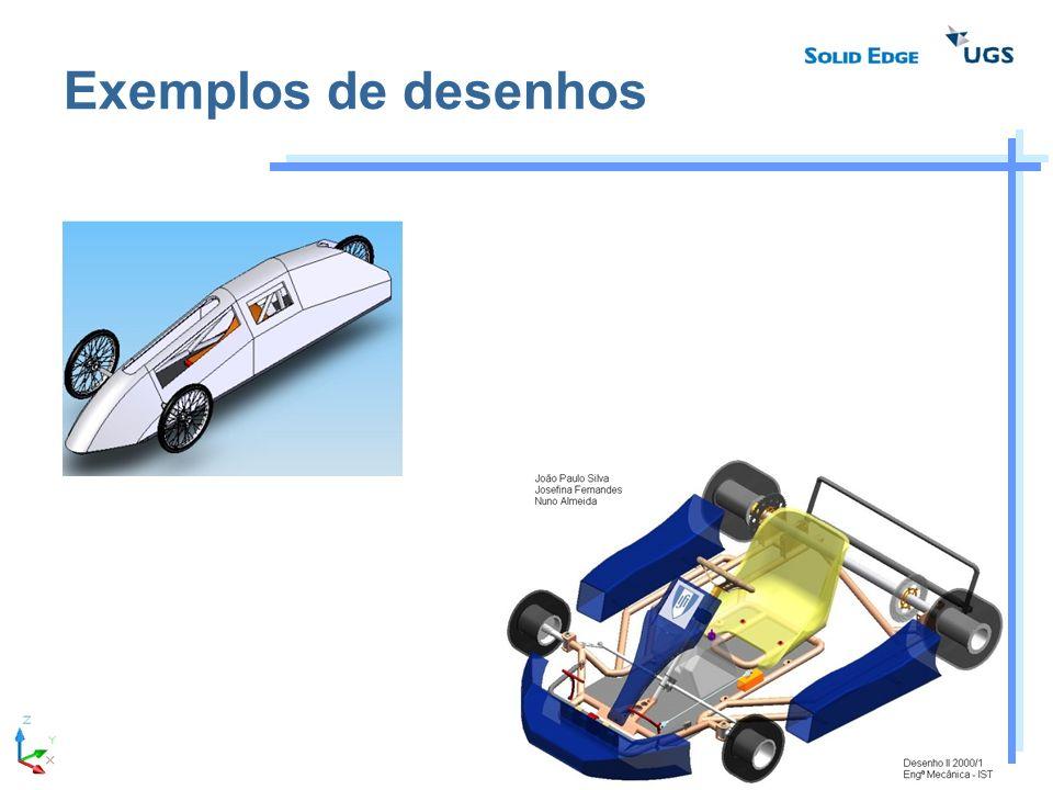 Exemplos de desenhos
