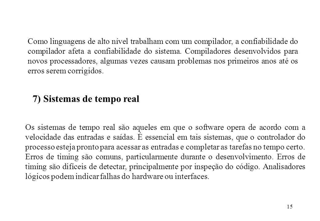 7) Sistemas de tempo real