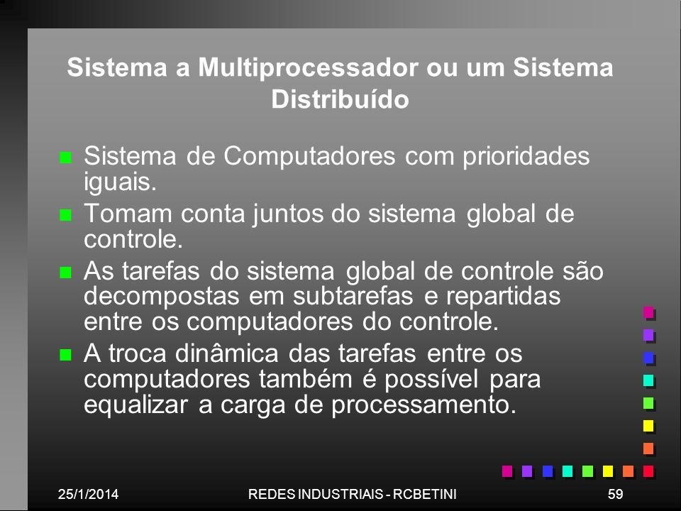 Sistema a Multiprocessador ou um Sistema Distribuído