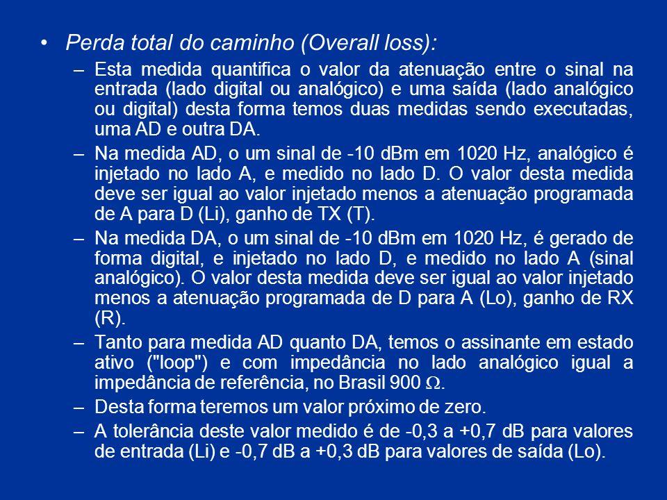Perda total do caminho (Overall loss):