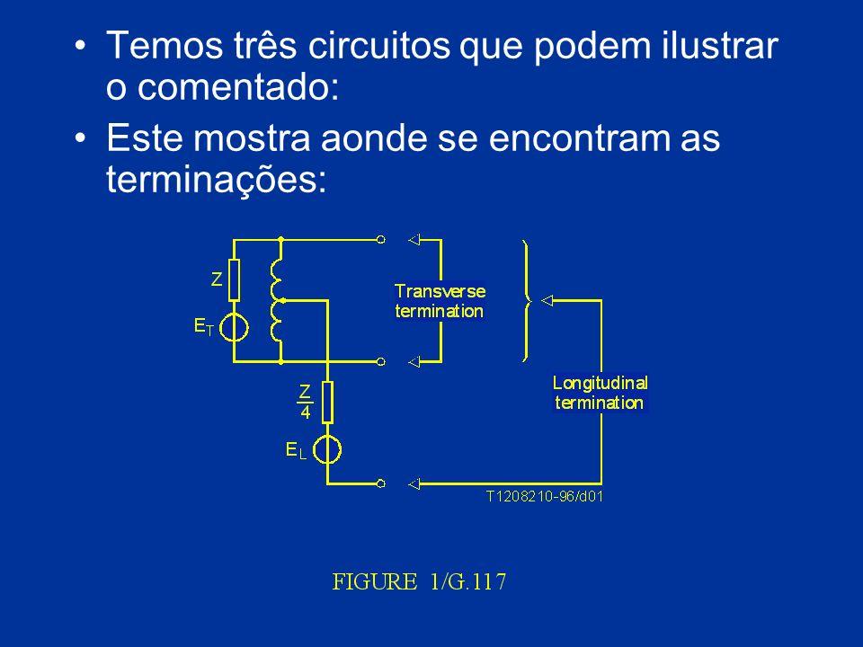 Temos três circuitos que podem ilustrar o comentado: