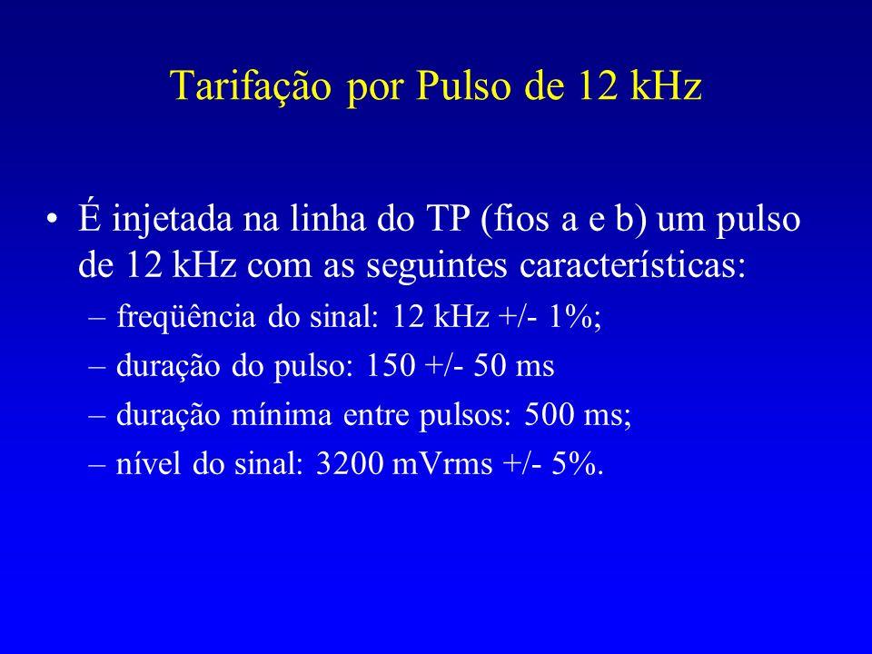Tarifação por Pulso de 12 kHz