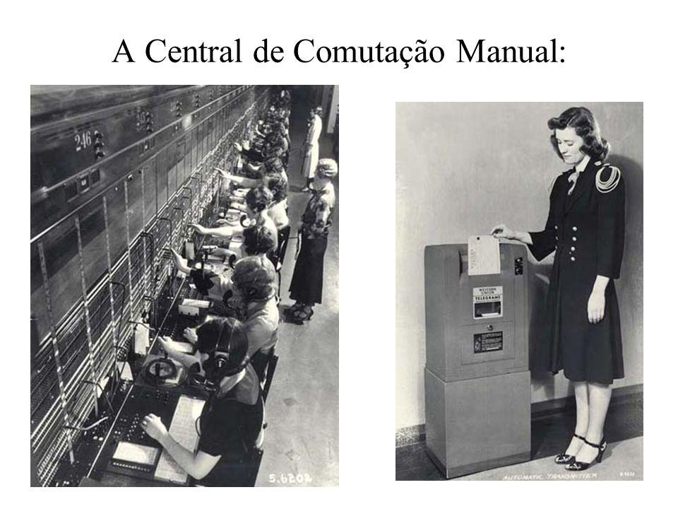 A Central de Comutação Manual: