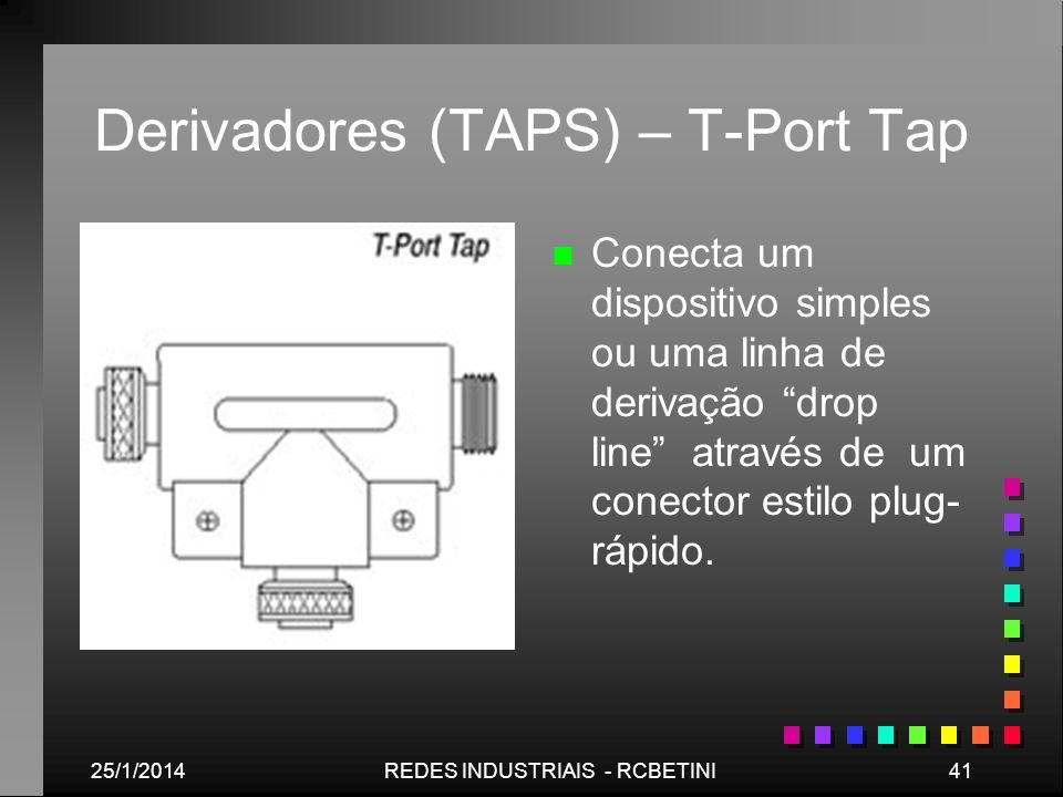 Derivadores (TAPS) – T-Port Tap