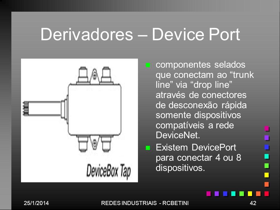 Derivadores – Device Port