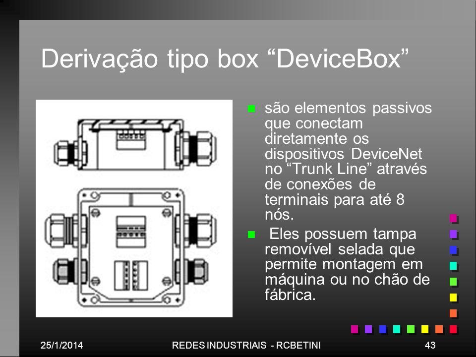 Derivação tipo box DeviceBox