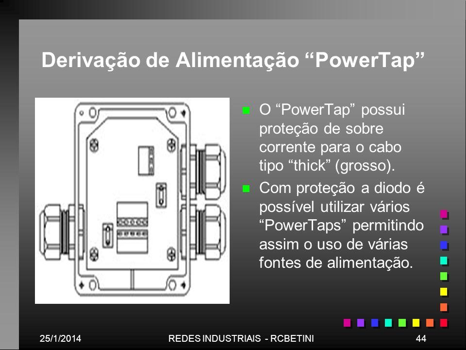 Derivação de Alimentação PowerTap