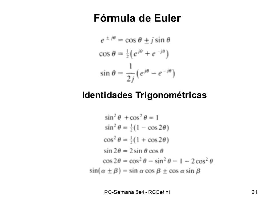 Identidades Trigonométricas