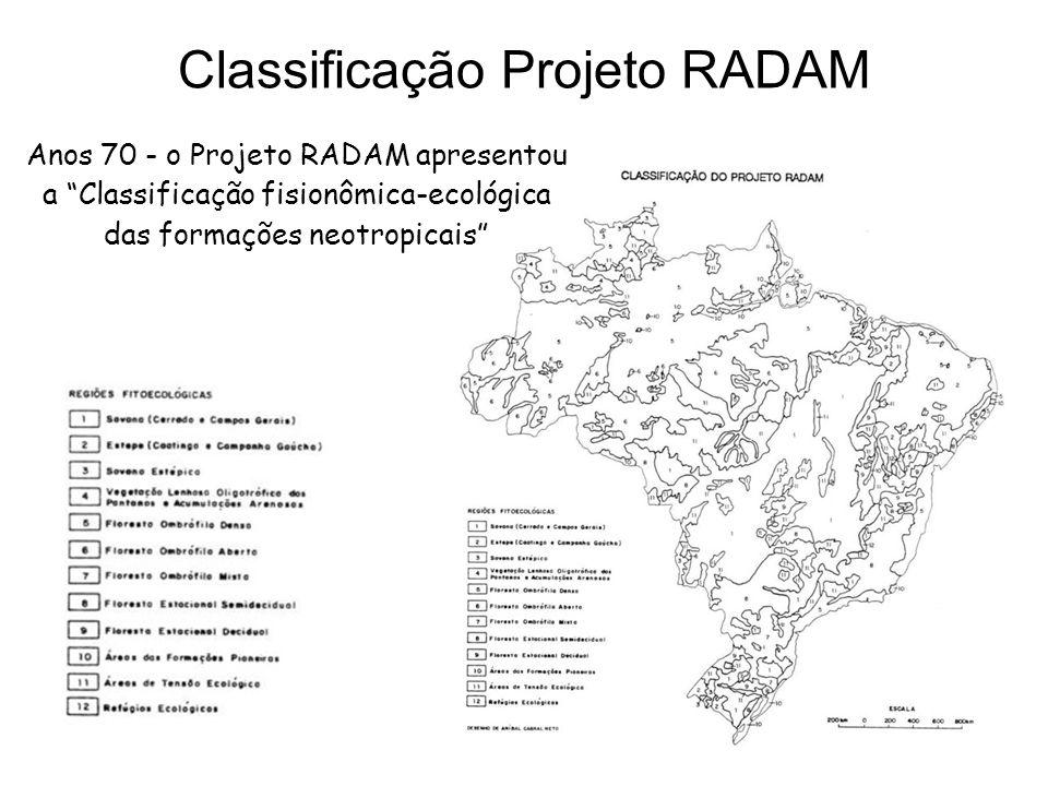 Classificação Projeto RADAM