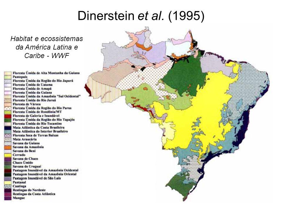 Habitat e ecossistemas da América Latina e Caribe - WWF