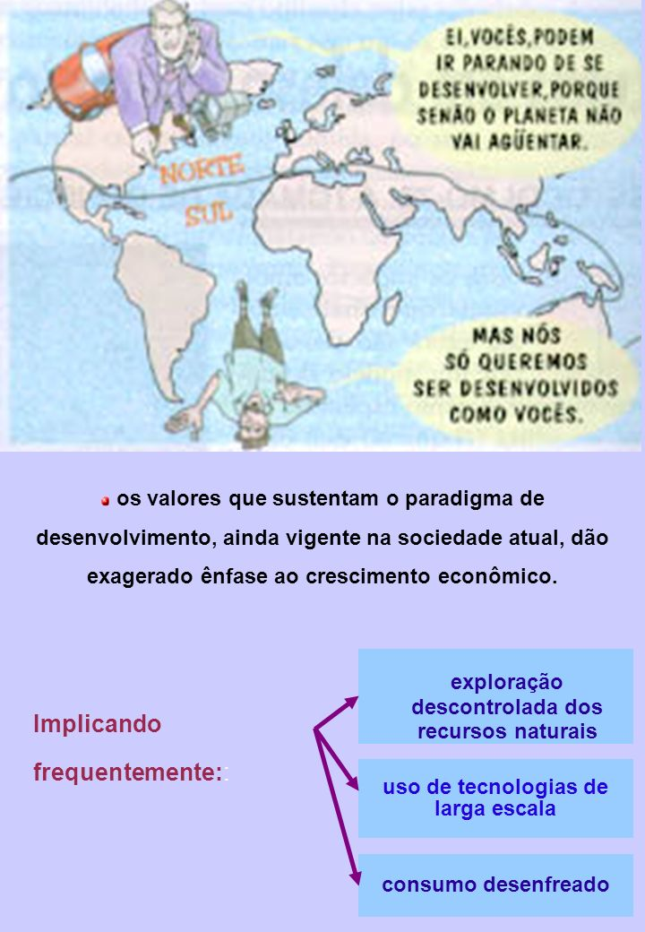 Implicando frequentemente::