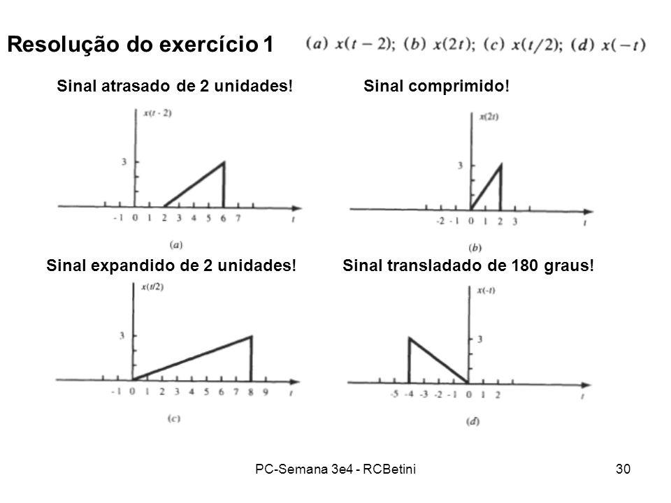 Resolução do exercício 1