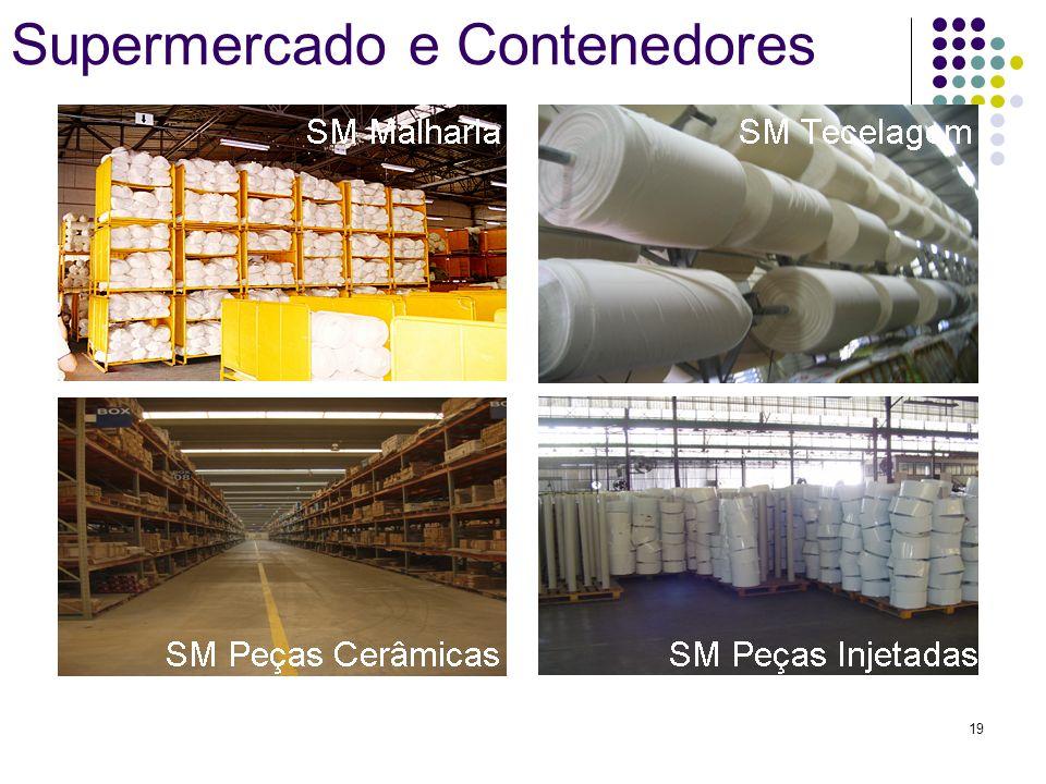 Supermercado e Contenedores