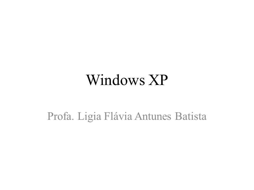 Profa. Ligia Flávia Antunes Batista