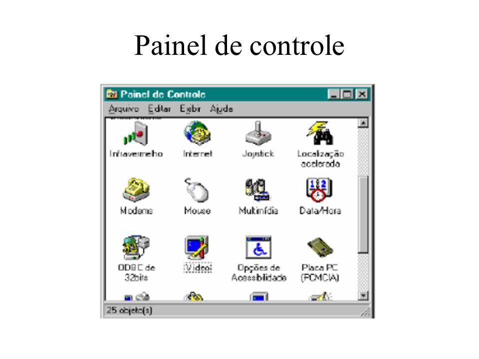 Painel de controle