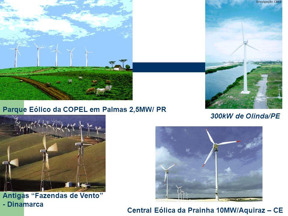 Parque Eólico da COPEL em Palmas 2,5MW/ PR