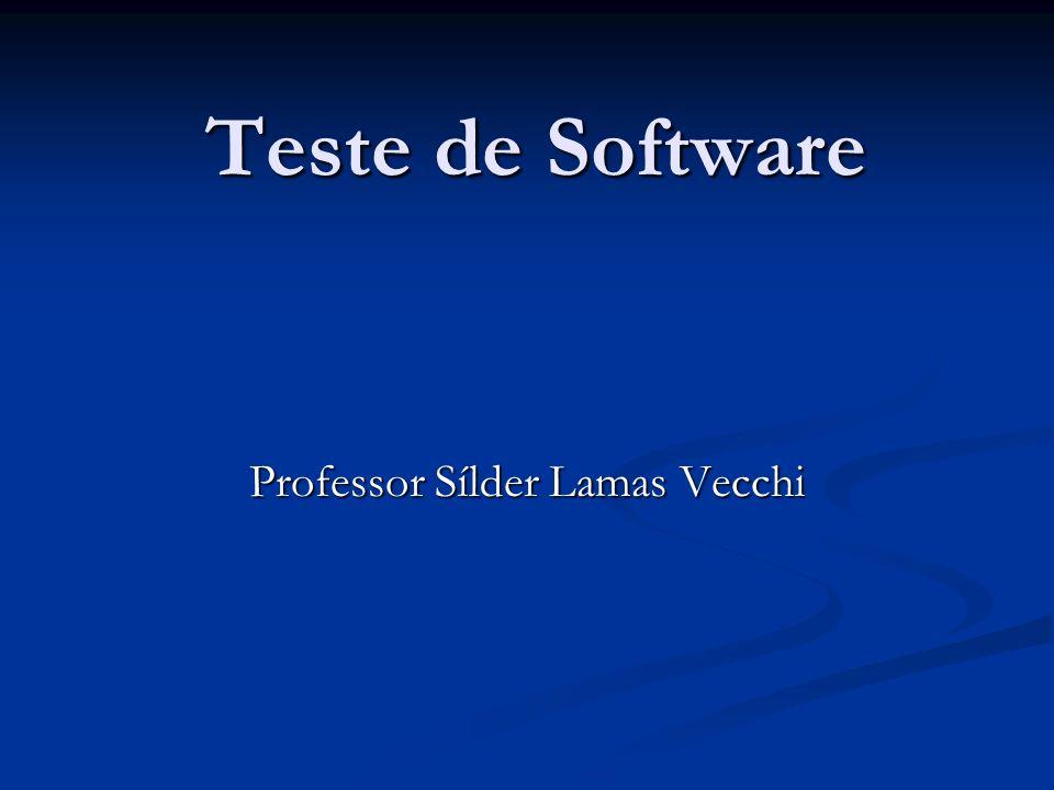 Professor Sílder Lamas Vecchi