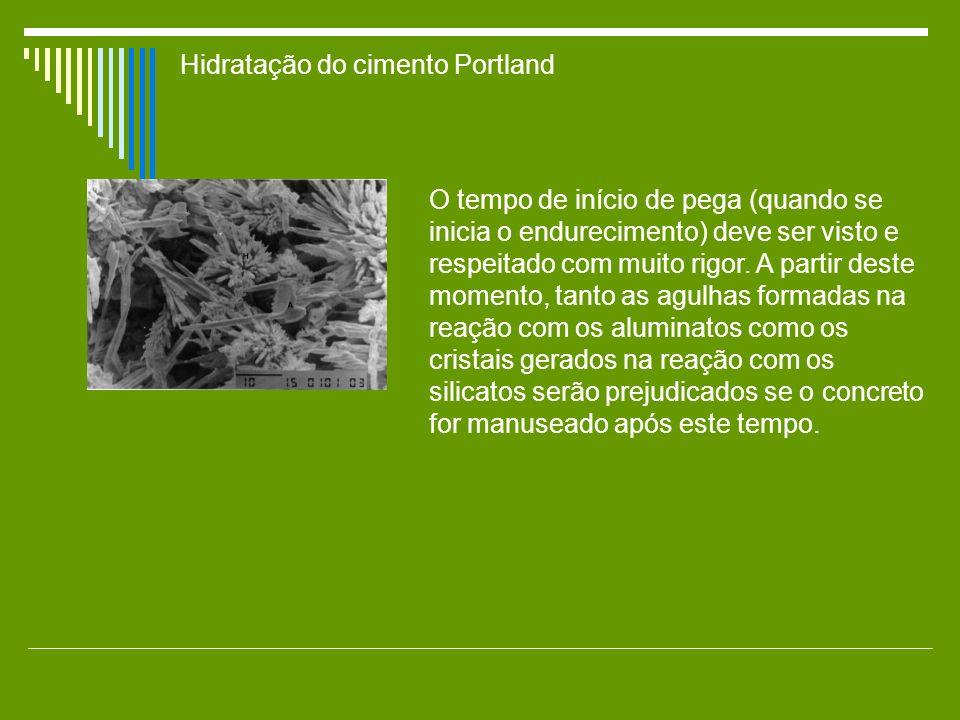 Hidratação do cimento Portland