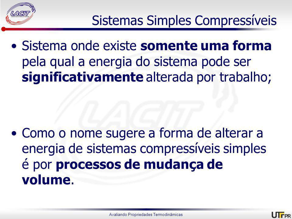 Sistemas Simples Compressíveis