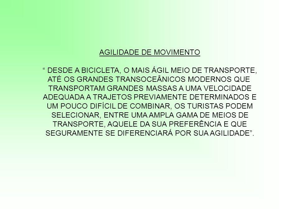 AGILIDADE DE MOVIMENTO