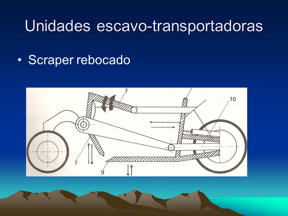 Unidades escavo-transportadoras