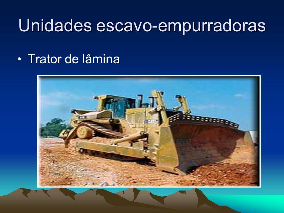 Unidades escavo-empurradoras