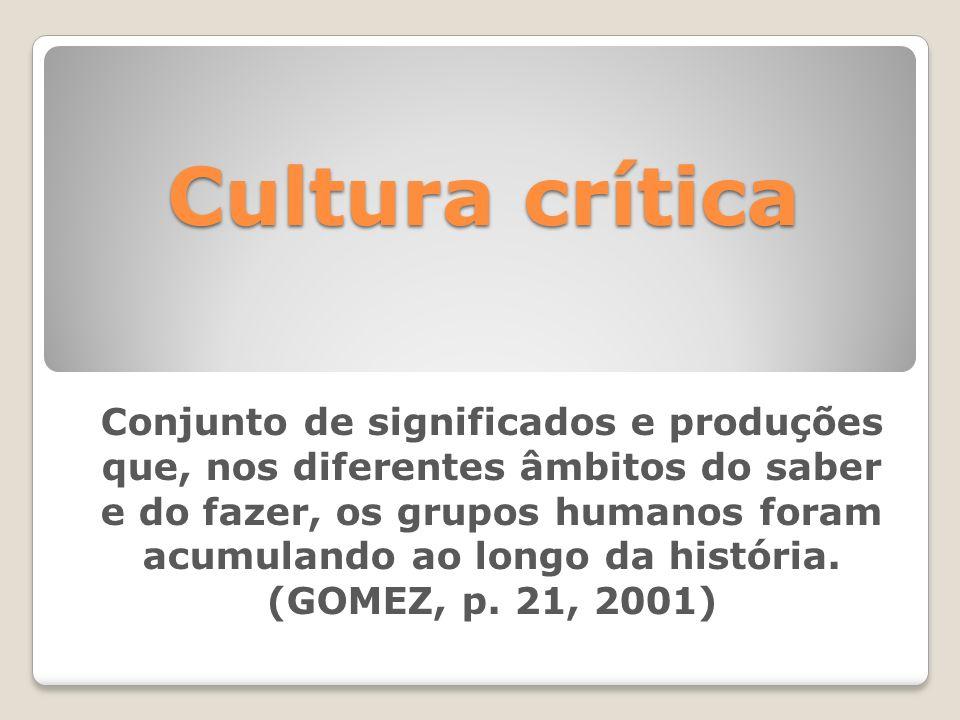 Cultura crítica