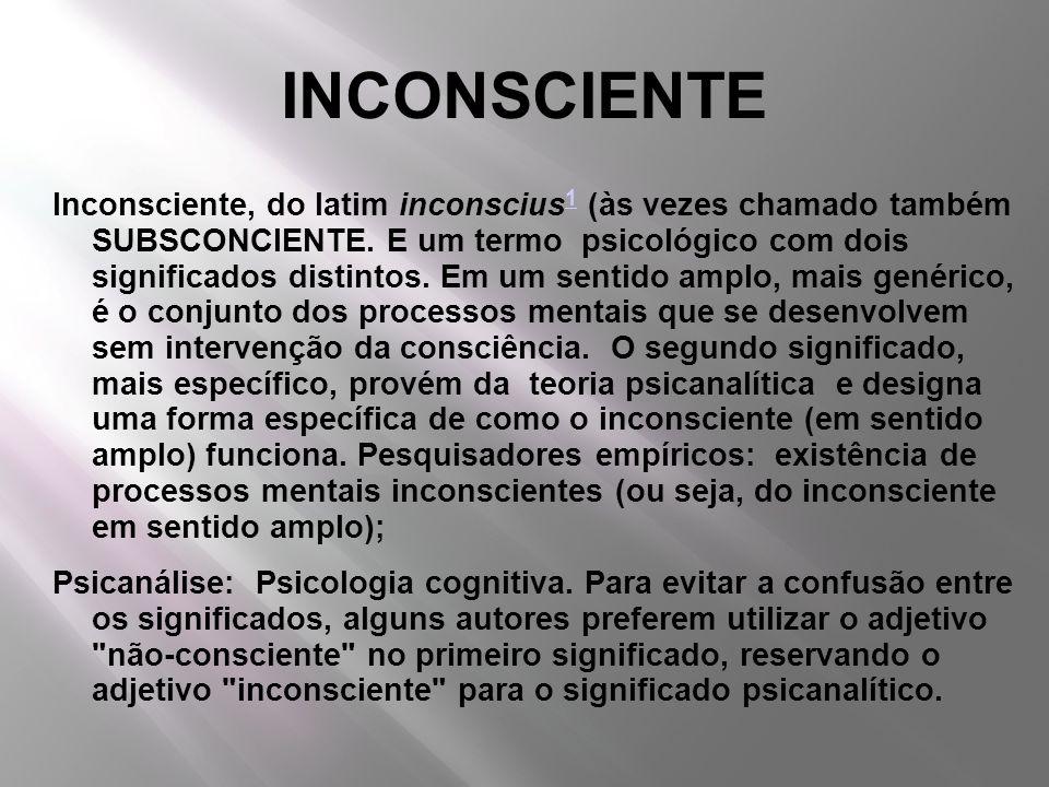 INCONSCIENTE