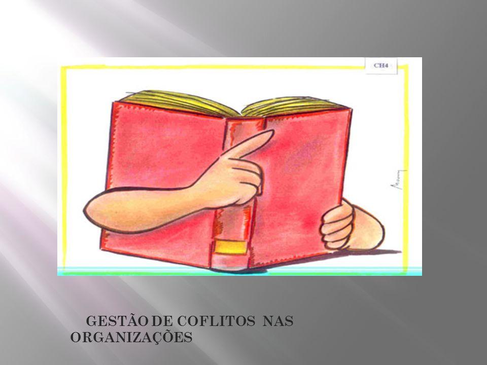 GESTÃO DE COFLITOS NAS ORGANIZAÇÕES