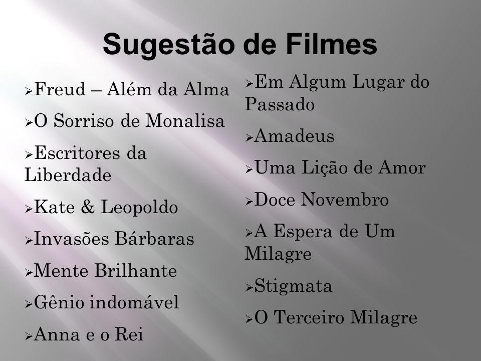 Sugestão de Filmes Em Algum Lugar do Passado Freud – Além da Alma