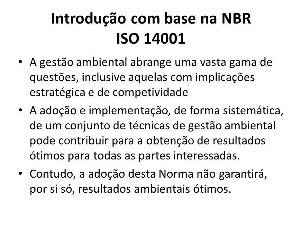 Introdução com base na NBR ISO 14001