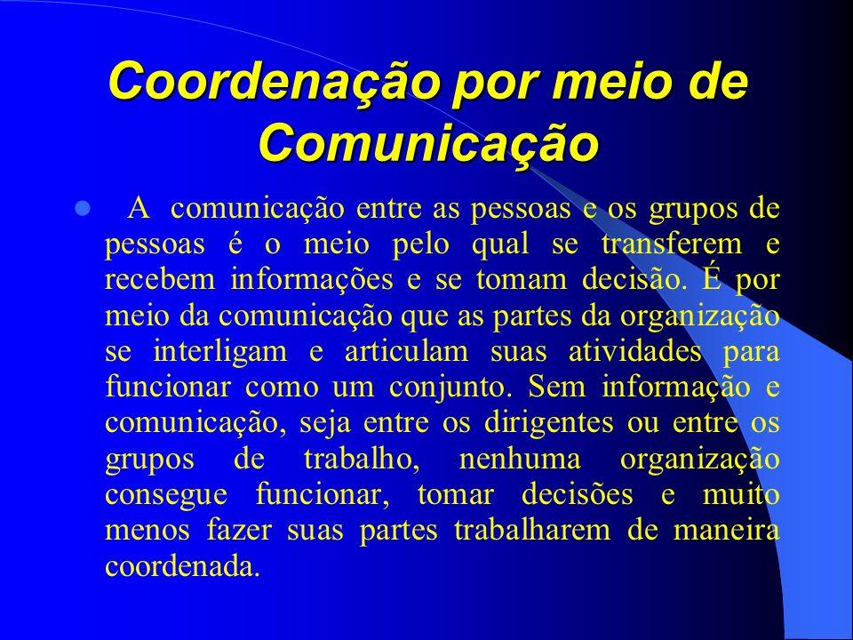 Coordenação por meio de Comunicação