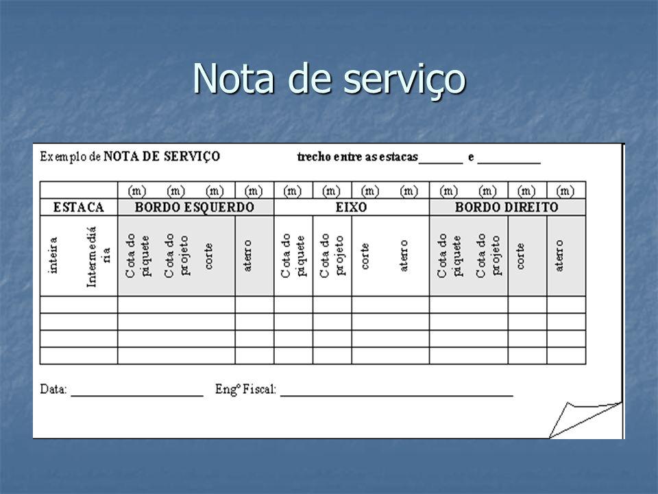 Nota de serviço