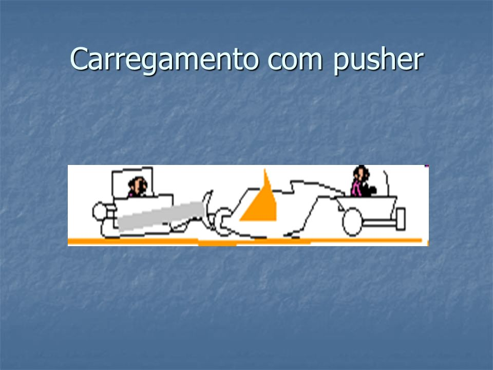 Carregamento com pusher
