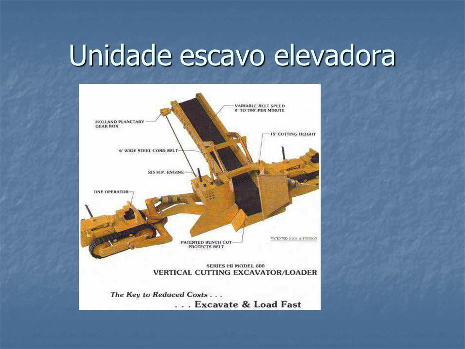 Unidade escavo elevadora