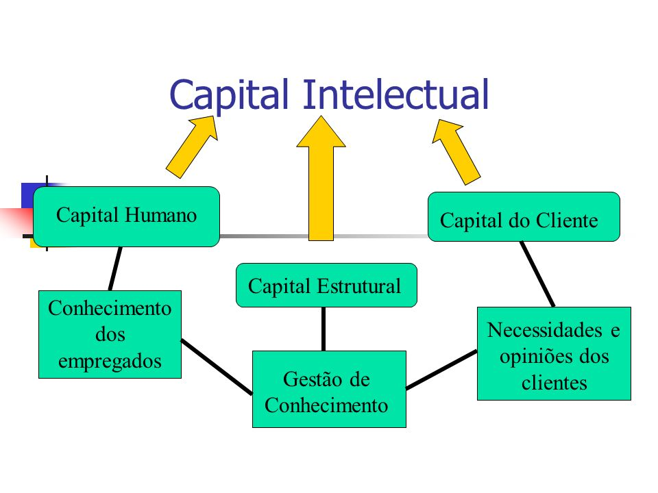 Capital Intelectual Capital Humano Capital do Cliente