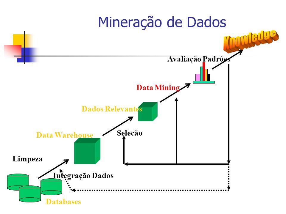 Mineração de Dados Knowledge Avaliação Padrões Data Mining