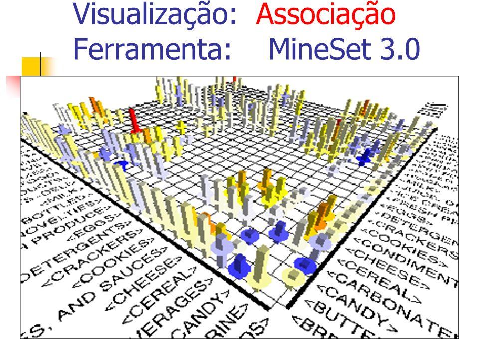 Visualização: Associação Ferramenta: MineSet 3.0