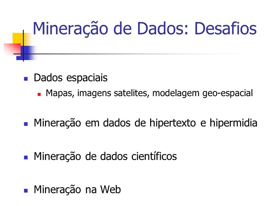 Mineração de Dados: Desafios