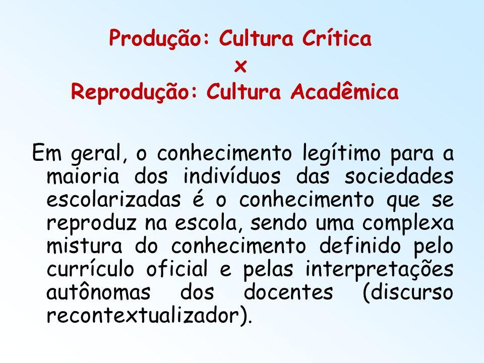 Produção: Cultura Crítica