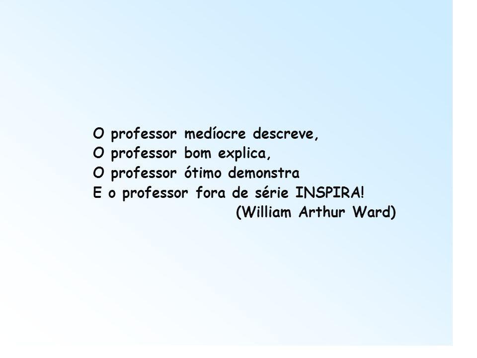 O professor medíocre descreve,