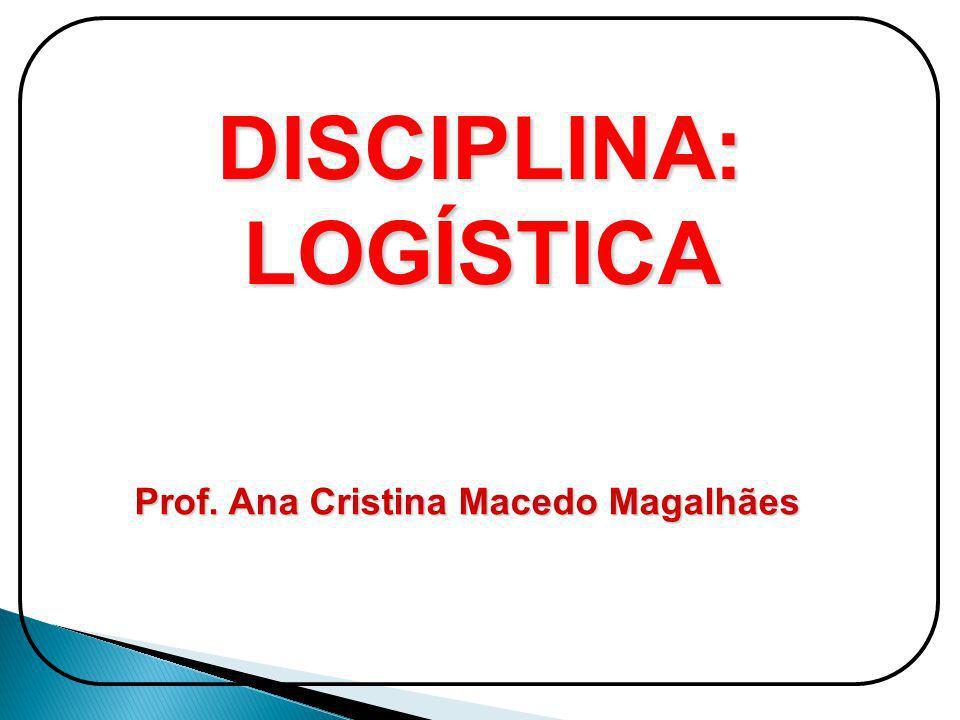 DISCIPLINA: LOGÍSTICA